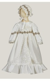 Vintage Christening Gown With Beadings And Pearls