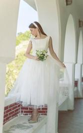 Bridal Lace Bodice Pleats Vintage 1950S Dress