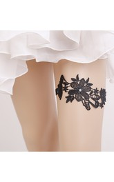 Hot Multicolor Lace Elastic Garter Within 16-23inch