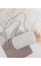 Elegant Pearl Clutch