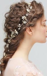 Western Style Handmade Rhinestone Beaded Headbands