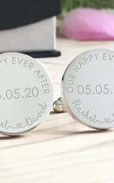 Wedding Role Stainless Steel Cufflinks