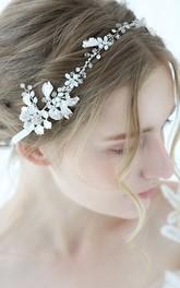 Handmade Western Style Crystal Rhinestone Headbands