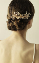 Classical Handmade Bridal Hair Combs with Beads