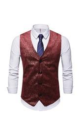 Poly Classic Men's Vest-3 Color Options