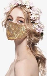 Non-Medical Cotton Sequins Face Masks