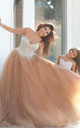 Formal Es Tulle Mother Daughter Sweetheart Gorgeous Gown