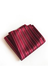 Striped Printing Pocket Square-11 Color Options