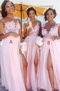 Bohemian Jewel Short Sleeve Tulle A-Line Dress
