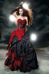 Sweetheart A-Line Sleeveless Taffeta Tulle Floor-length Sweep Train Wedding Dress with Corset Back