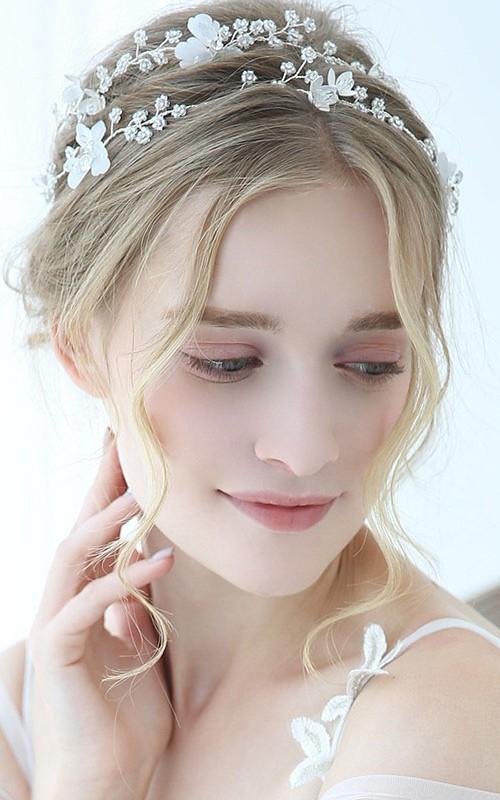 Ladies Exquisite Crystal Rhinestone Headbands