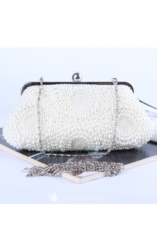 Charming Pearl Handbag