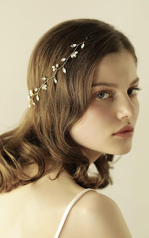 Simple Style Sweet Rhinestone Headbands