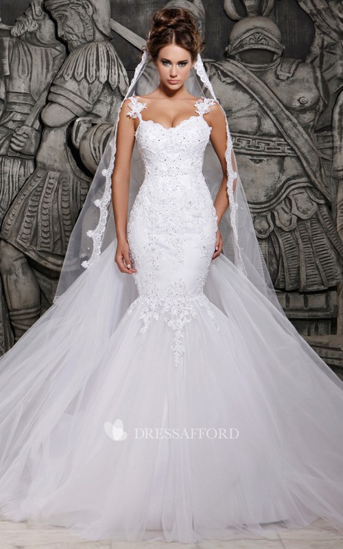 Lace Wedding Veil Tulle Magnificent Gown