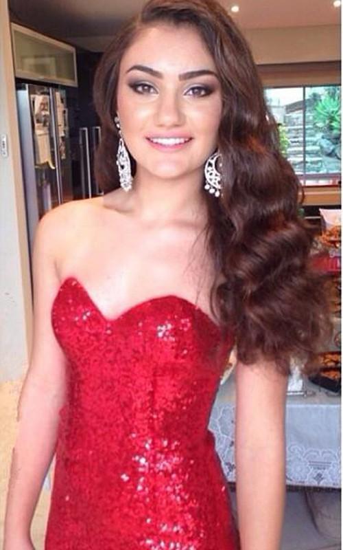 Glamorous Red Sequins Mermaid Prom Dress 2018 Sweep Train